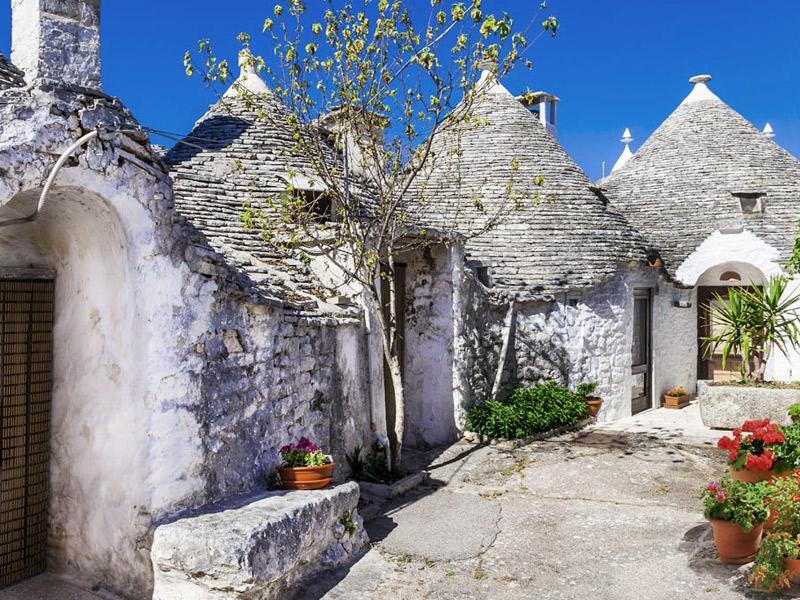 As atrações da Puglia que são patrimônios da Unesco - Trulli de Alberobello