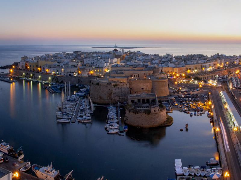 10 cidades imperdíveis na Puglia - Gallipoli