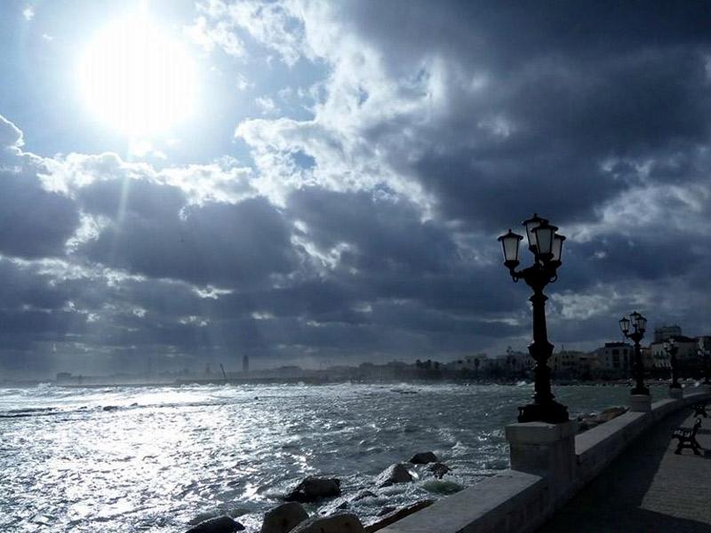 Os ventos que alteram o clima na Puglia