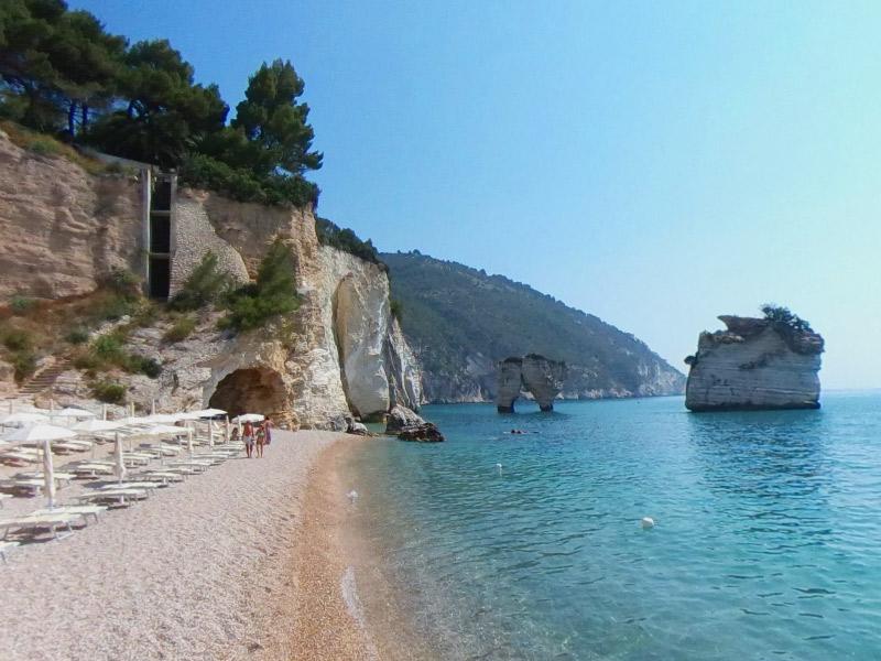 5 praias na Puglia