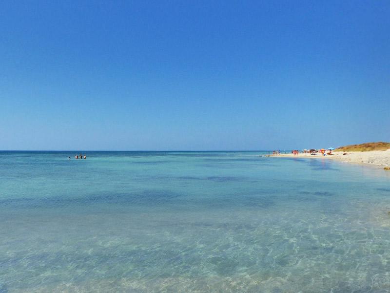 5 praias lindas na Puglia que você tem que conhecer - Marina di Pescoluse - Salve