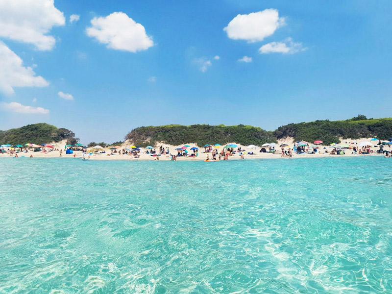"5 motivos para conhecer a Puglia - Praia de Punta Prosciutto no Parque Natural ""Palude del Conte e Duna Costiera"" - Porto Cesareo (LE)"