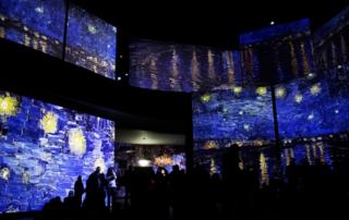 Van Gogh Alive – The Experience reabre o Teatro Margherita, um novo espaço de exposição em Bari