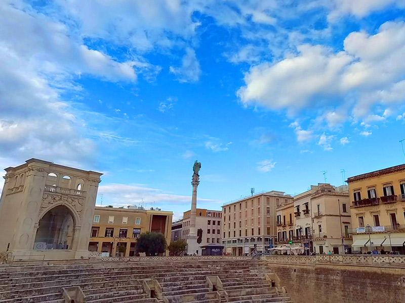 Lecce é a Florença do Sul da Itália - Piazza Sant'Oronzo