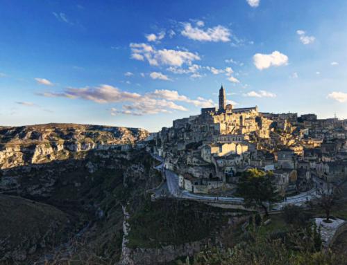 Matera é a cidade subterrânea de pedras