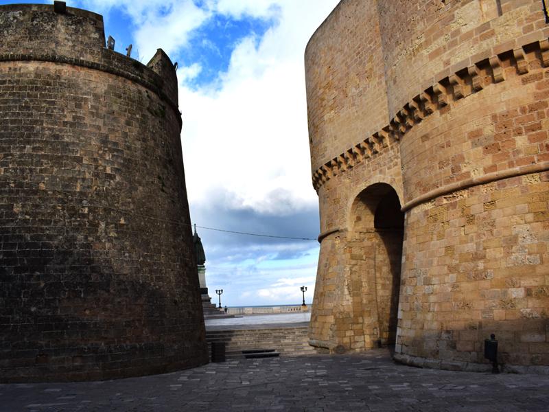 Otranto no centro-sul da Puglia