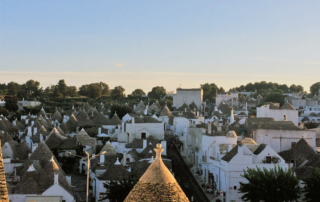 Panorâmica dos Trulli de Alberobello