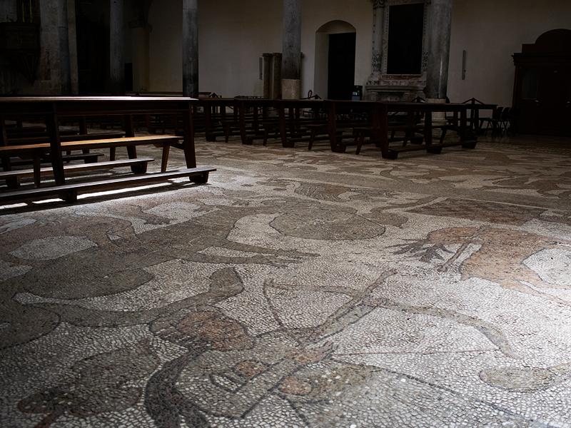 Otranto - Porta do Oriente - Mosaico da Catedral