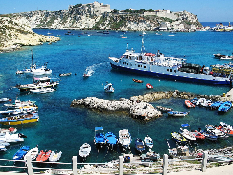 O arquipélago das Ilhas Tremiti - San Domino