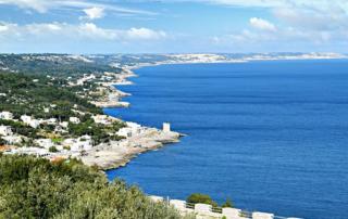 Estrada panorâmica do Salento Adriático - Puglia