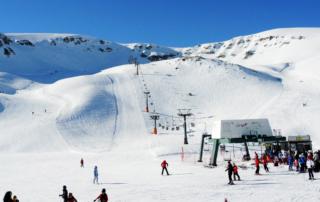 Esquiar perto da Puglia