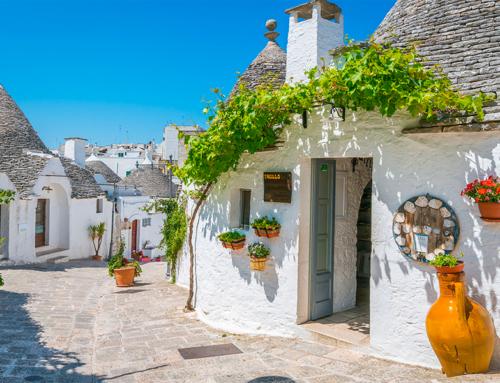 Alberobello é a preferida das famílias italianas