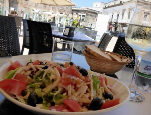 Hora de comer na Puglia