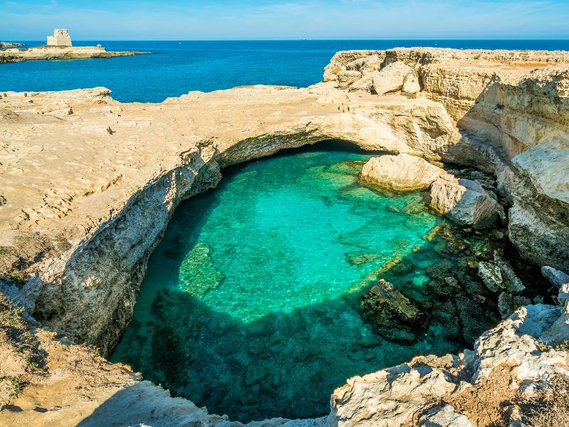 Marina de Melendugno - Grotta della Poesia