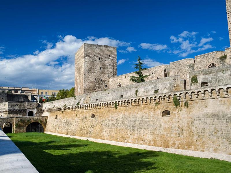 5 Castelos na Puglia