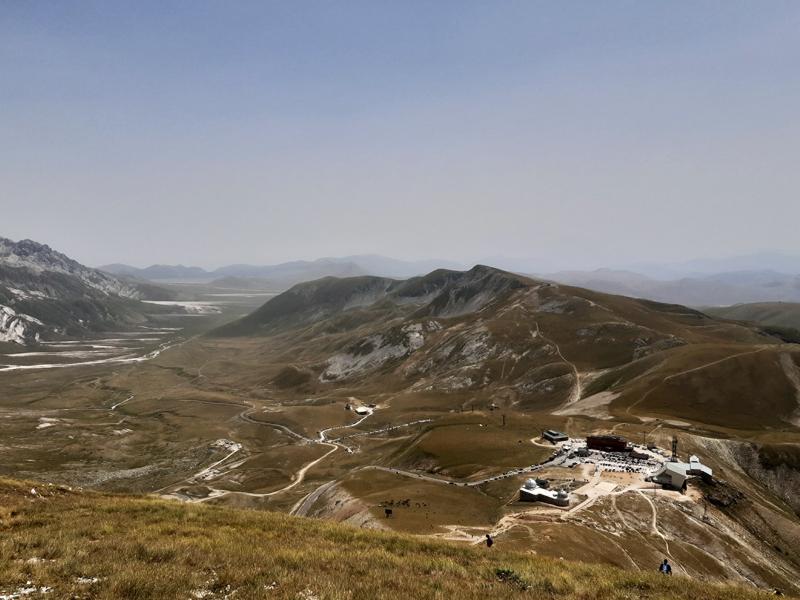 Gran Sasso, as montanhas mais altas dos Apeninos
