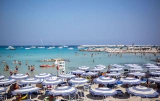 Alta do verão na Puglia